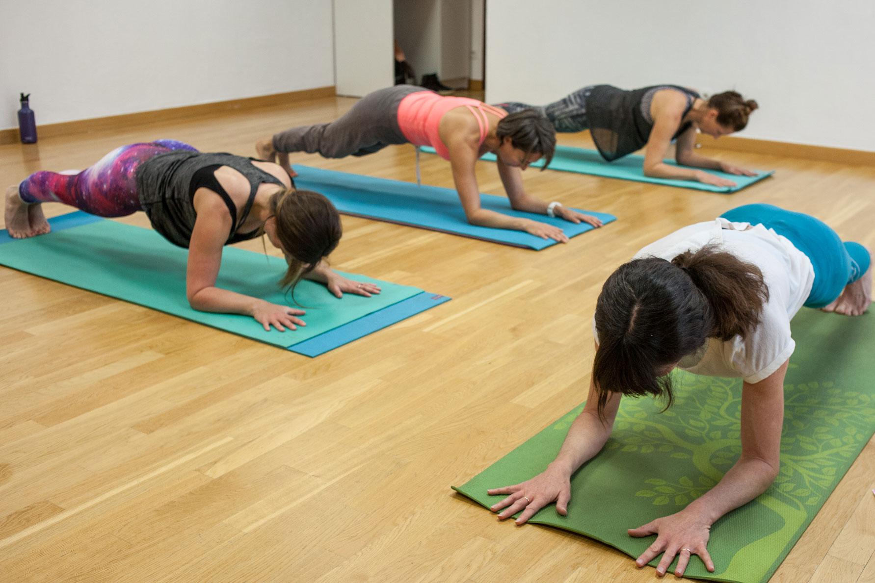 Pilates class Les Allues